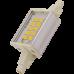 Лампа светодиодная для прожектора Ecola LED Lamp Premium 6,0W F78 220V R7s 6500K (Алюминиевый радиатор) 78x20x32mm