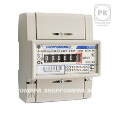 Счетчик электроэнергии однофазный Энергомера  CE101-R5