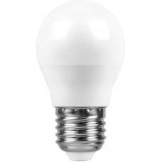 Лампа светодиодная G45 Шар E27 7W 4000K